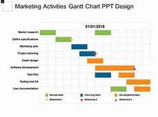 Business Activities Chart Marketing Activities Gantt Chart Ppt Design Powerpoint