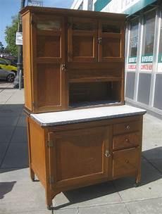 uhuru furniture collectibles sold oak hoosier cabinet