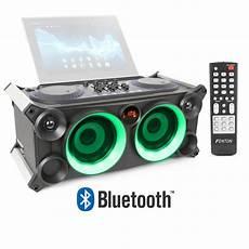 Boombox Led Lights Portable Stereo Boombox Dj Speaker Mixer Bluetooth Usb