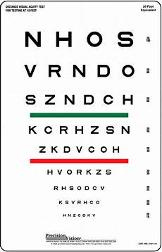 Visual Acuity Picture Chart Sloan Striped Visual Acuity Chart Precision Vision