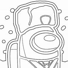 5 Among Us Coloring Page 5 Among Us Coloring Page Free Printable Coloring Pages