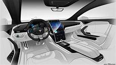 2019 Tesla Roadster Interior by Check Out This Tesla Model S Interior Render With