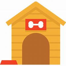 kennel furniture and household doghouse house icon