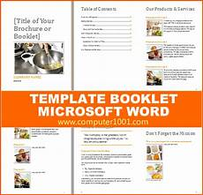 Booklet Template Word 8 Microsoft Word Booklet Template Bookletemplate Org