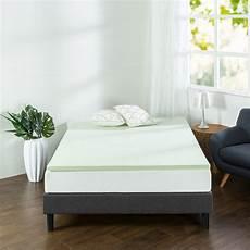 size memory foam mattress topper pad hypoallergenic