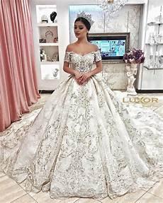 discount dubai arabic luxury sparkly 2018 ivory wedding