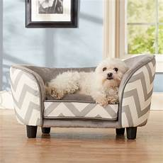 enchanted home pet snuggle bed gray chevron beds
