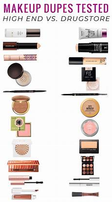 drugstore makeup dupes tested a of high end vs