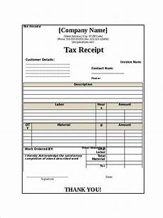 Or Receipt Sample Free 8 Tax Receipt Examples Amp Samples In Pdf Doc Examples