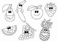 Malvorlagen Kinder Obst Kostenlose Druckbare Obst Malvorlagen F 252 R Kinder Obst