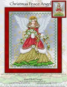 Joan Elliott Cross Stitch Charts Christmas Peace Angel From Joan Elliott Cross Stitch