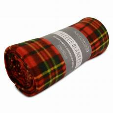 soft warm 120x150cm single tartan check sofa throw bed