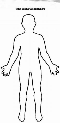 Body Template Outline Printable Outline Of Person Clip Art Library