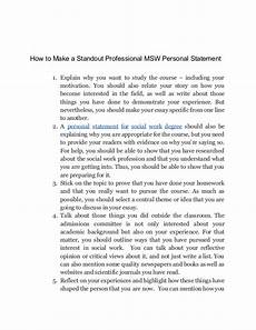 Care Worker Personal Statement How To Make An Outstanding Social Workers Personal Statements