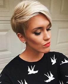 kurzhaarfrisuren in blond 2019 popular hairstyles for an oval