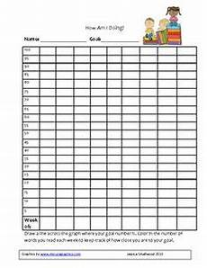 Chart For Students To Monitor Progress Free Student Progress Graph Template Goal Thermometer