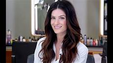 Light Wave Hairstyles How To Dry Hair With A Round Brush To Create Soft