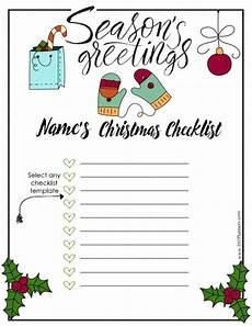 Christmas List Maker Printable Free Christmas List Template Customize Online Amp Print At