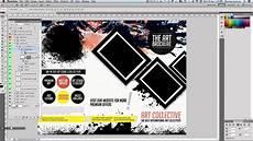 Art Gallery Brochure Design Art Amp Photo Tri Fold Brochure Template Youtube