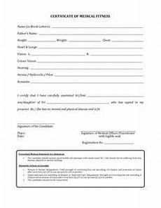 Medical Certificate For College Admission Image Result For Medical Fitness Certificate Indian