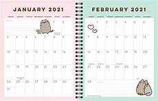 Monthly Planner Book Pusheen 16 Month 2020 2021 Weekly Monthly Planner Calendar