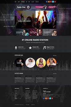 Radio Station Template Wordpress Radio Station Theme Gridgum