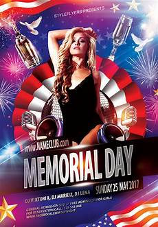 Memorial Day Flyer Memorial Day Flyer By Styleflyers On Deviantart
