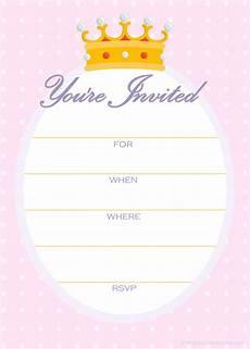 Princess Party Invitations Printable Free Free Printable Party Invitations April 2010