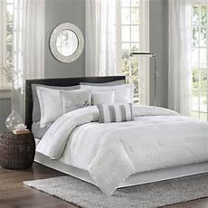 white bedding set king comforter 7 luxury hotel