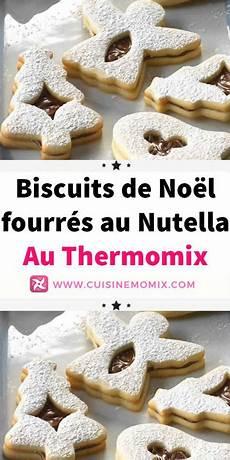 biscuits de no 235 l fourr 233 s au nutella au thermomix avec