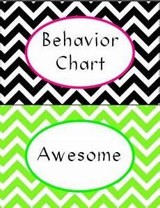 Chevron Behavior Clip Chart Chevron Behavior Clip Chart By One Room Schoolhouse Tpt