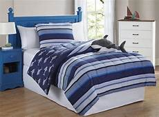 friends shark stripe 3 comforter set home