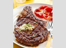 Cowboy Rib Eye Steak and Whiskey Butter   Recipe   Rib eye