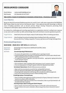 Resume Format For Banking Jobs Using Correct Resume Format For Banking Jobs Best Resume