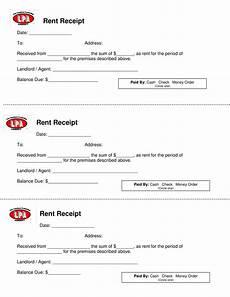 Receipt Of Rent Payment Template Rental Payment Receipt Template Templates At