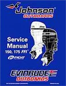 1998 Johnson Evinrude Quot Ec Quot 150 175 Ffi Service Manual P