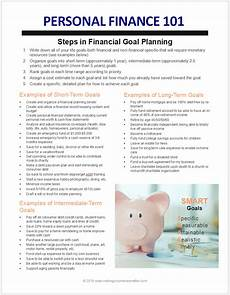 Examples Of Short Term Goals Pf101 Intro To Personal Finance Amp Goals Financial Goals