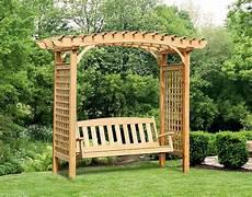 pergola swing treated pine greenfield arbor and swing set