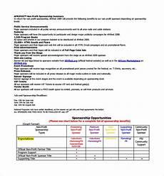 Non Profit Sponsorship Proposal Template Free 13 Sample Non Profit Proposal Templates In Pdf Ms