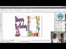 cara membuat undangan ulang tahun dengan corel draw doovi