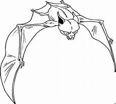 Fledermaus Ausmalbild Kostenlos Fledermaus Fliegt Ausmalbild Malvorlage Phantasie
