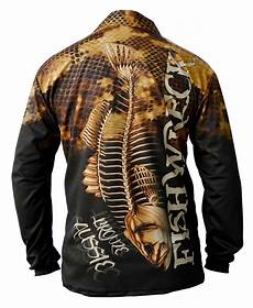 fishing sleeve mens fishing sleeve shirt bass bronze aussie polo ebay