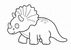 dinosaur triceratops coloring pages for