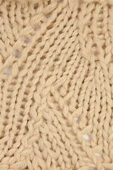 loom knitting by this moment is gansey eyelet