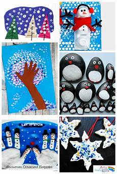 16 easy winter crafts for arty crafty