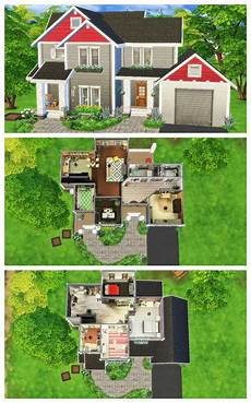 craftsman house sims 4 speed build sims house plans