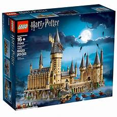 new harry potter lego hogwarts is the second largest set