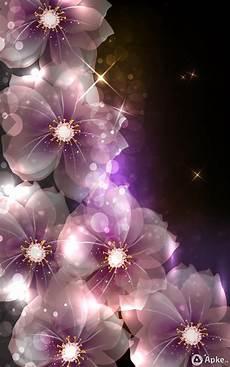 flower wallpaper live светящиеся цветы живые обои скачать для android os