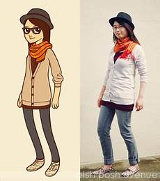 pish posh avenue hipster girl fashion part ii