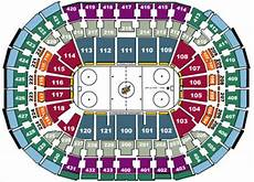 Washington Capitals Seating Chart With Rows Nhl Hockey Arenas Verizon Center Home Of The